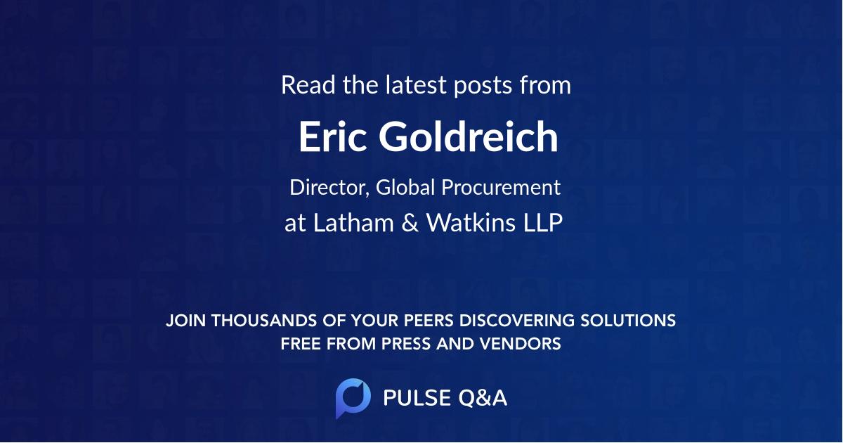 Eric Goldreich
