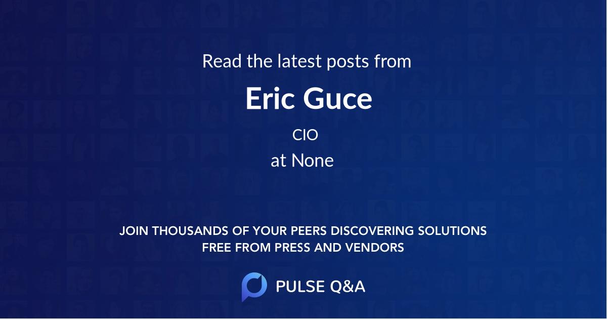 Eric Guce