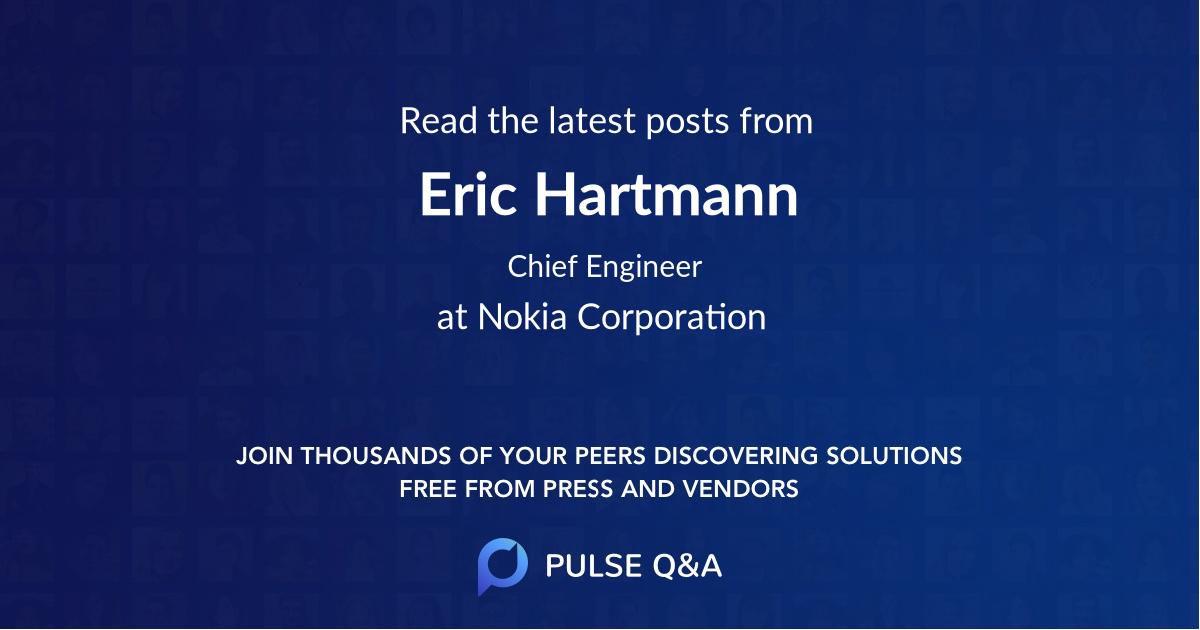 Eric Hartmann
