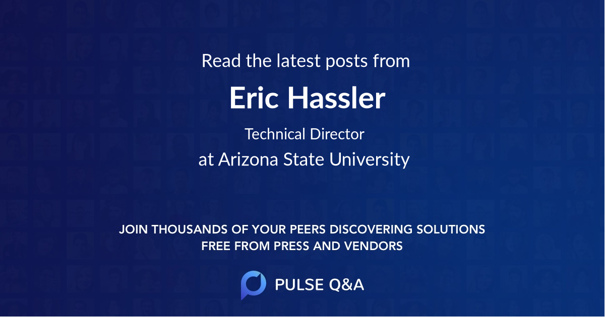 Eric Hassler