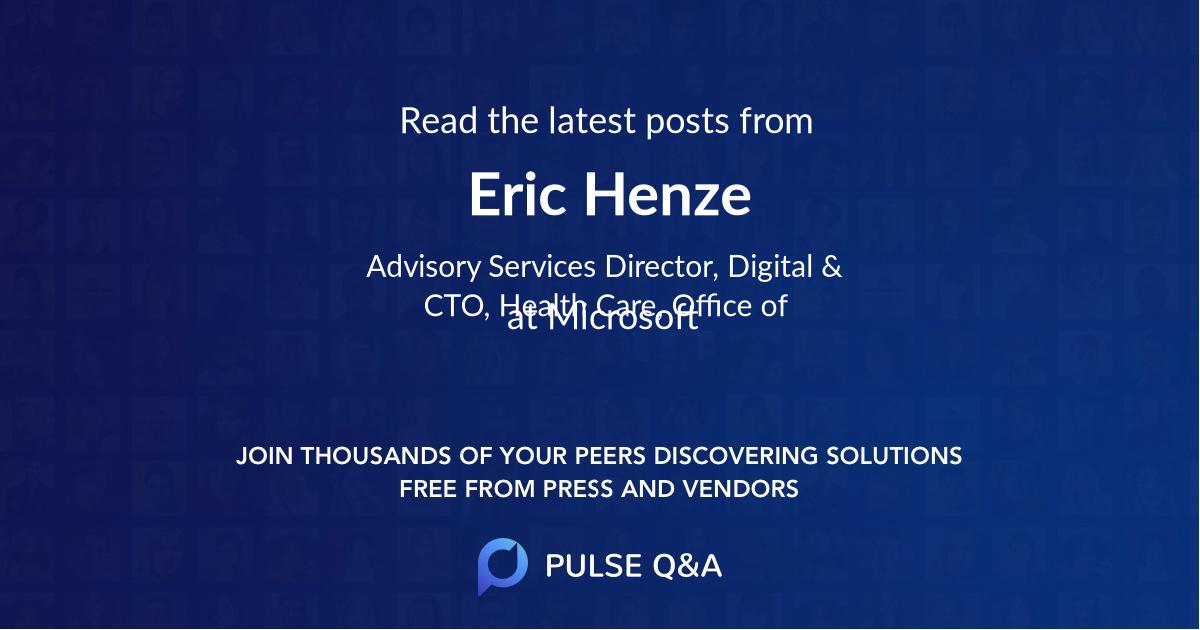 Eric Henze