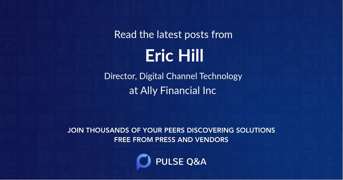 Eric Hill