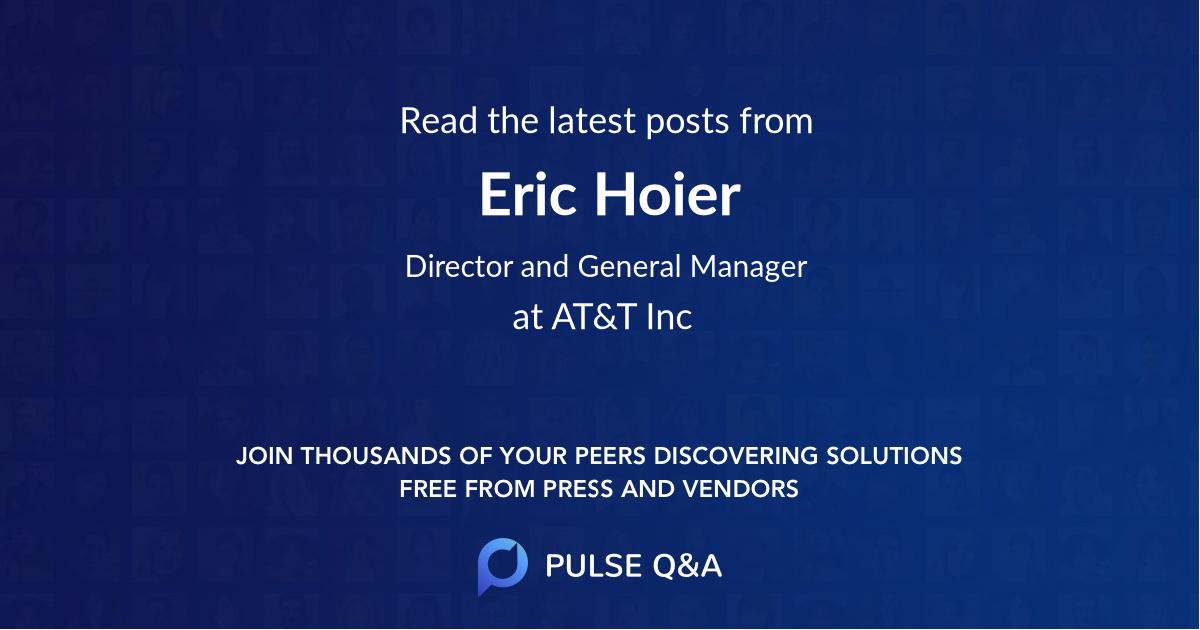 Eric Hoier