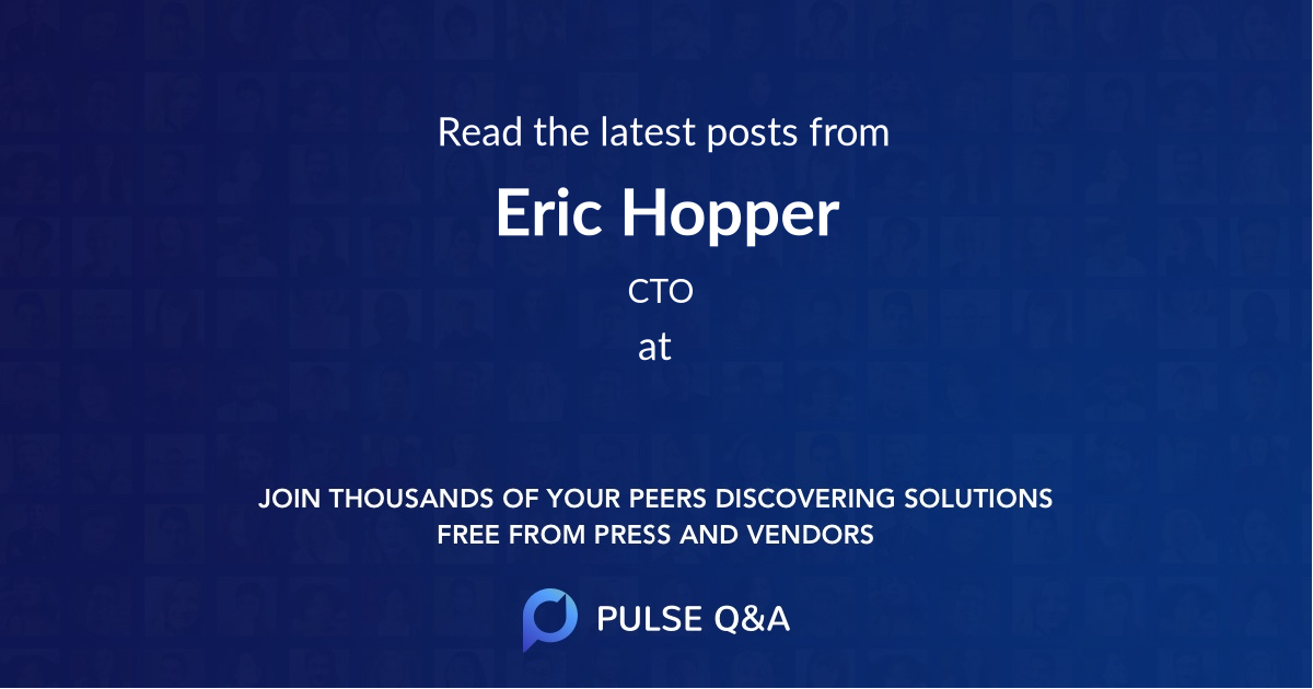 Eric Hopper