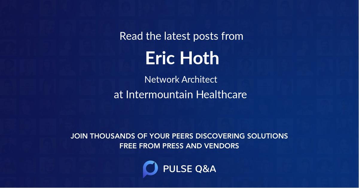 Eric Hoth