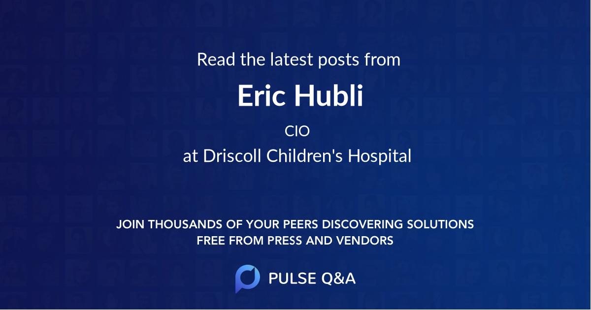 Eric Hubli