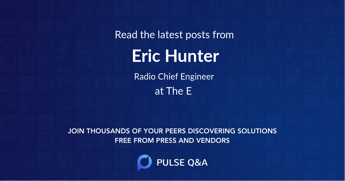 Eric Hunter