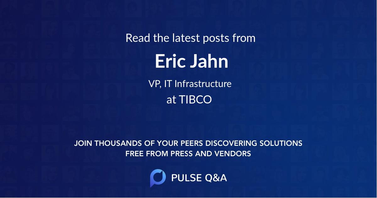 Eric Jahn