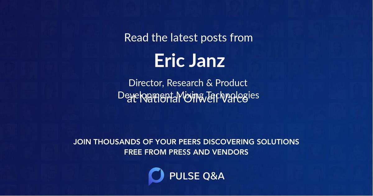 Eric Janz