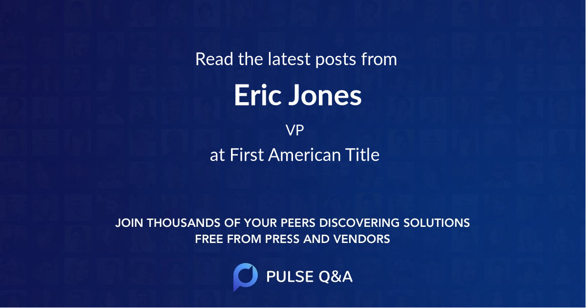 Eric Jones