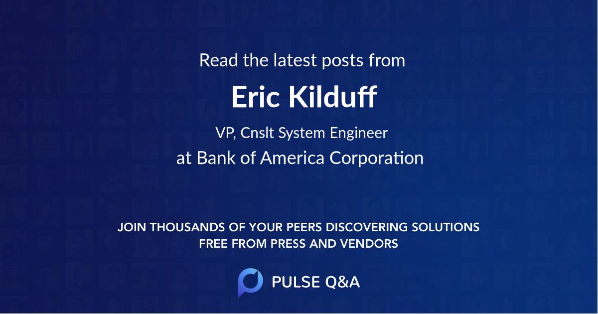 Eric Kilduff