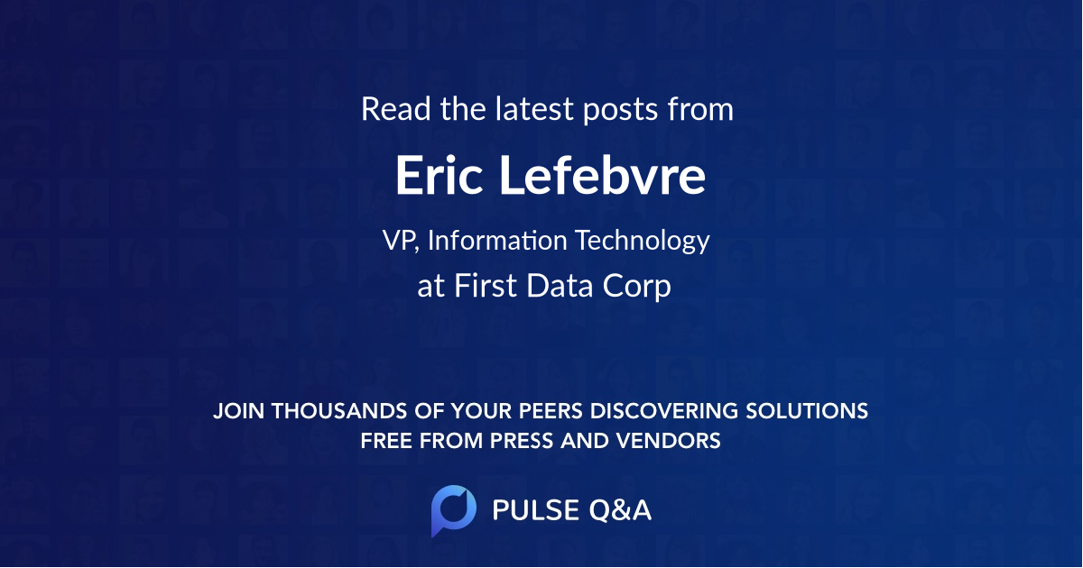 Eric Lefebvre