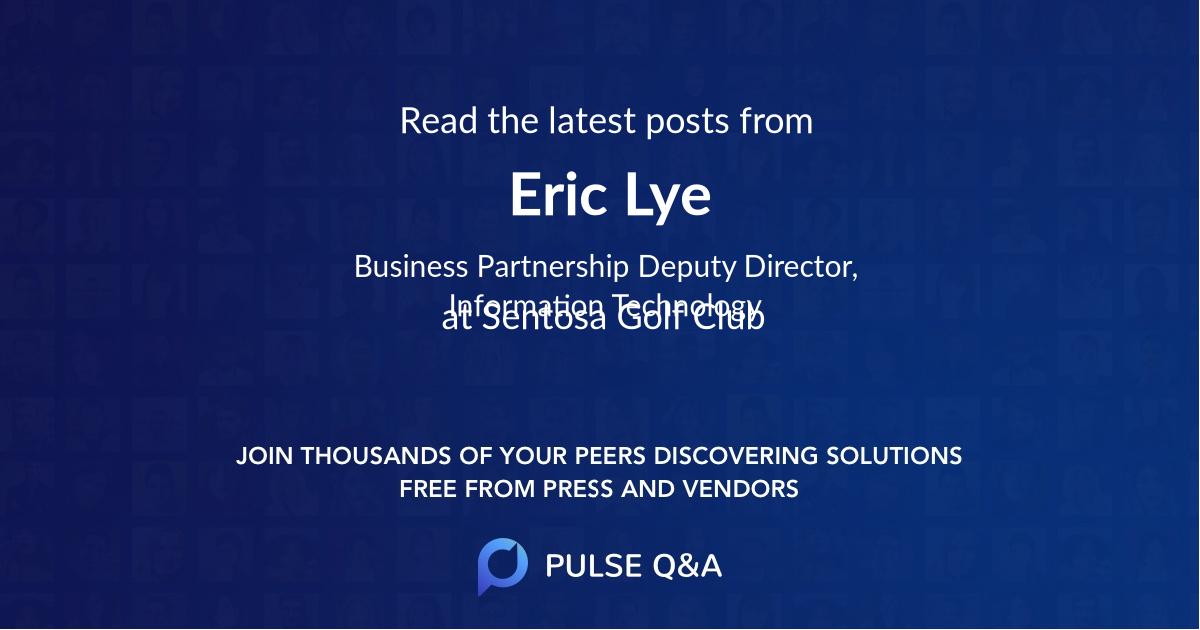 Eric Lye