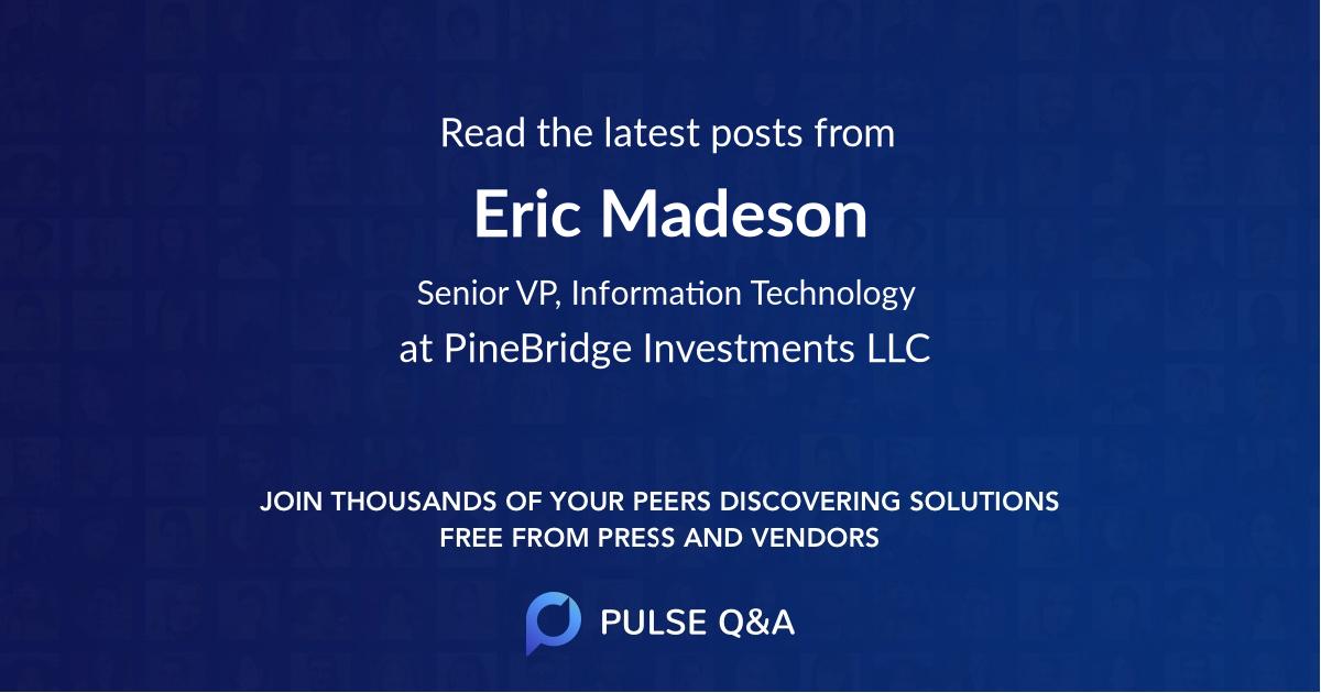 Eric Madeson