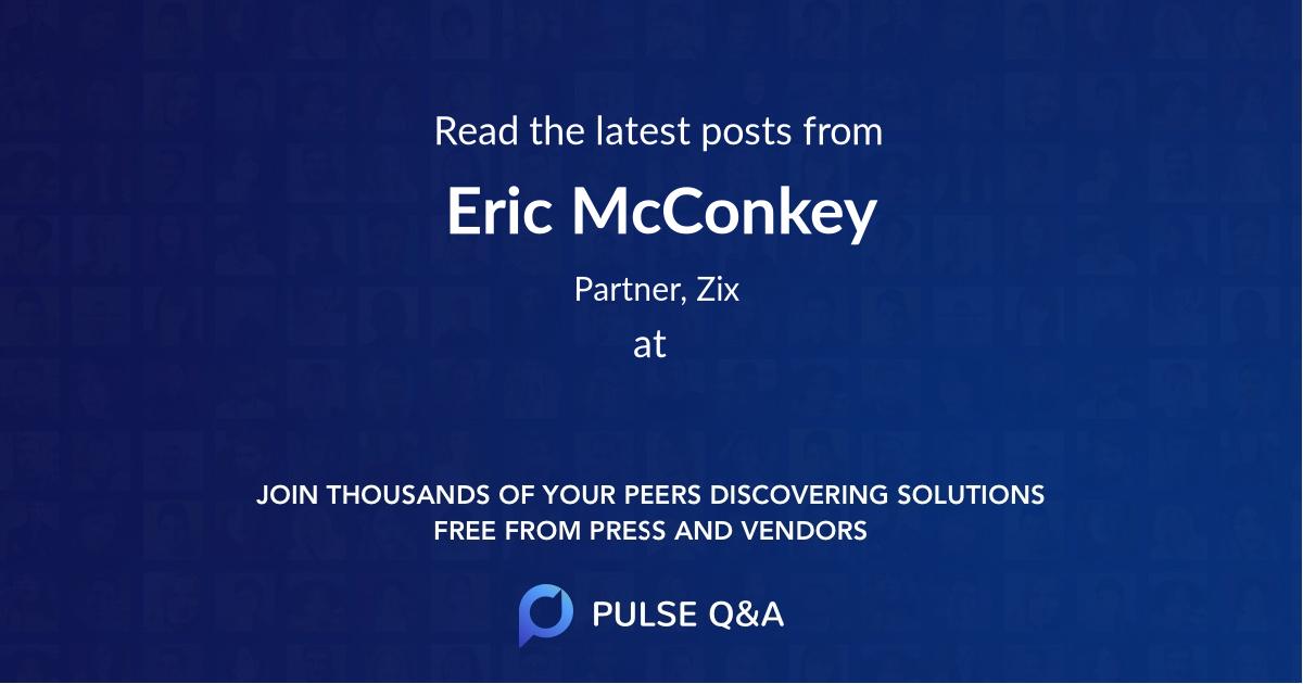 Eric McConkey