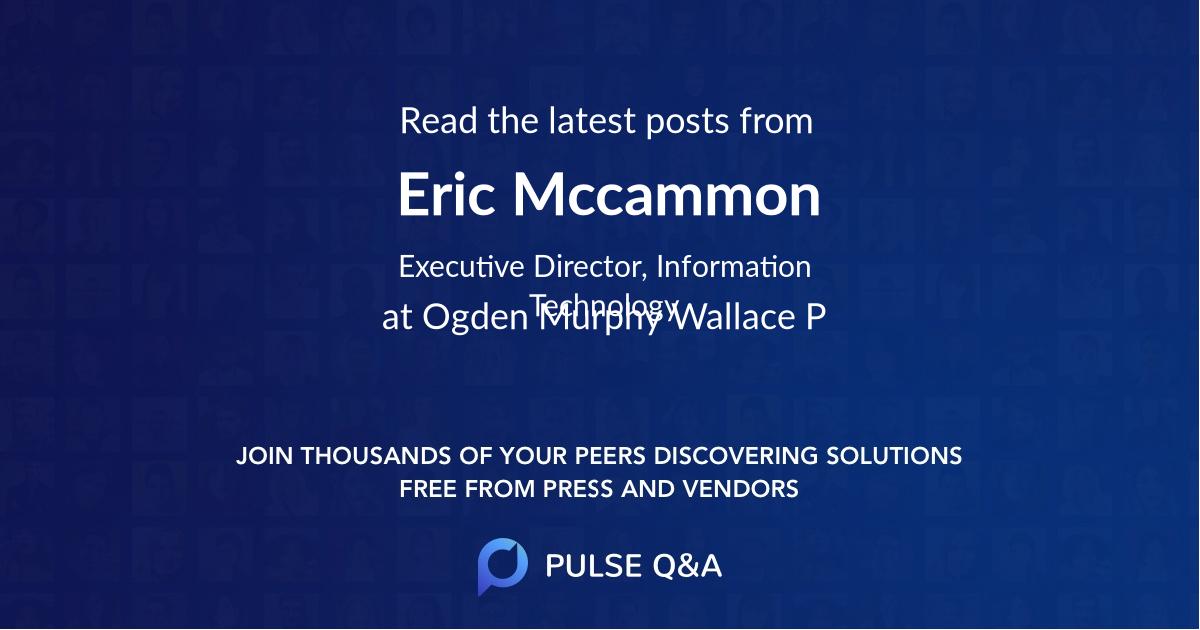Eric Mccammon