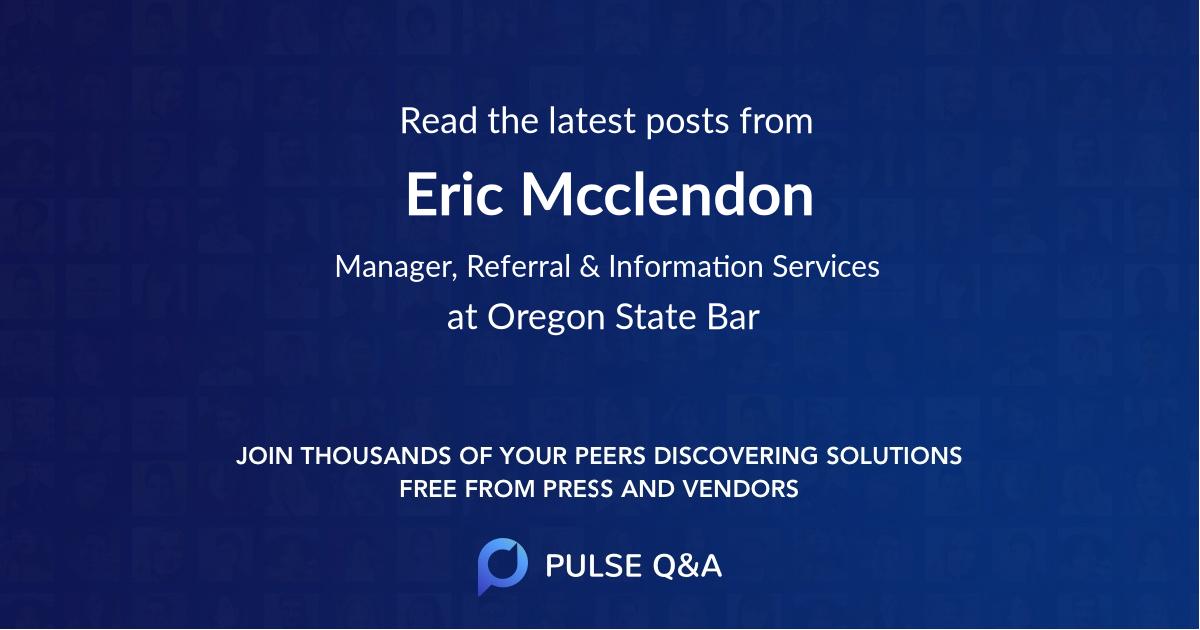 Eric Mcclendon