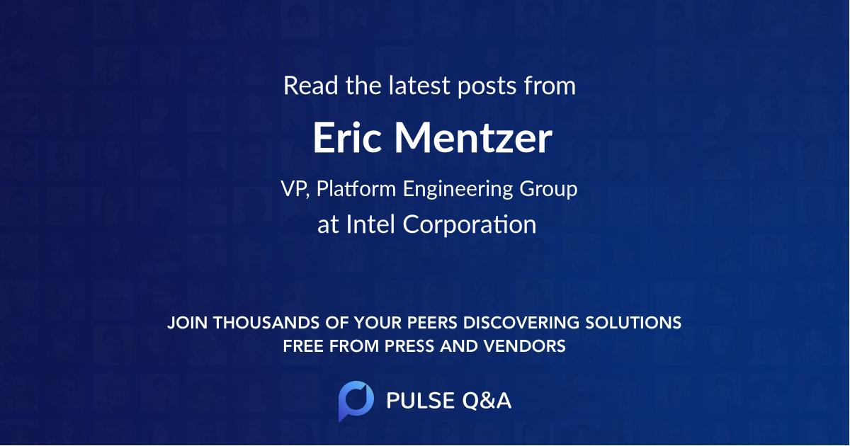 Eric Mentzer