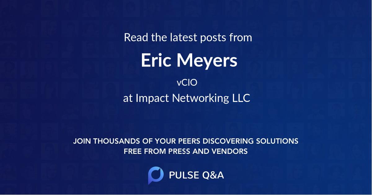 Eric Meyers
