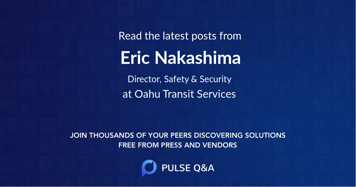 Eric Nakashima