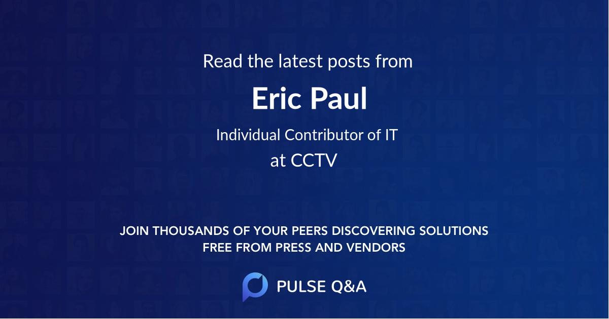 Eric Paul