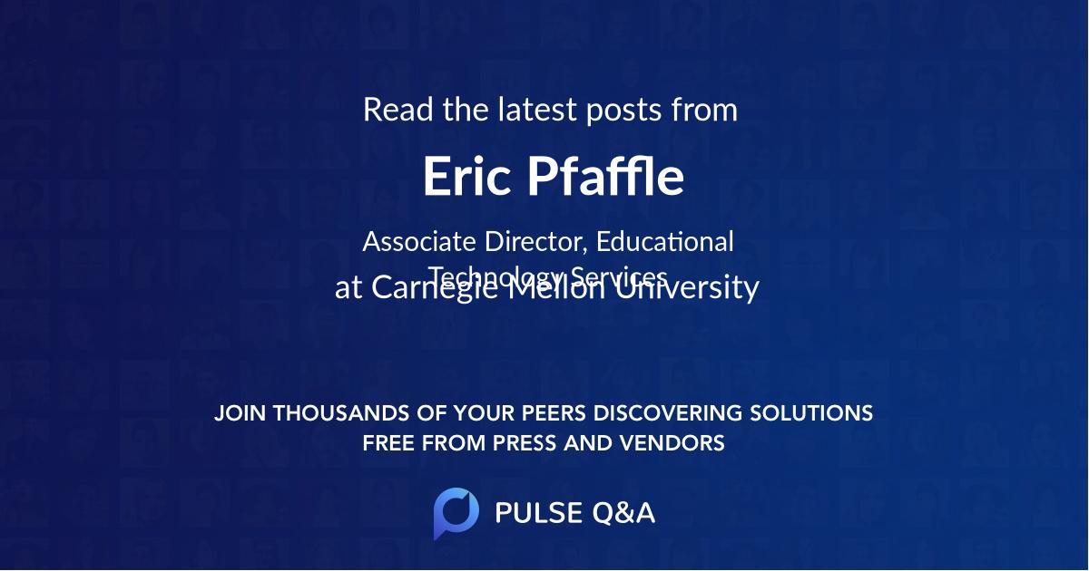 Eric Pfaffle
