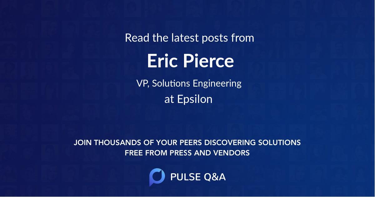Eric Pierce