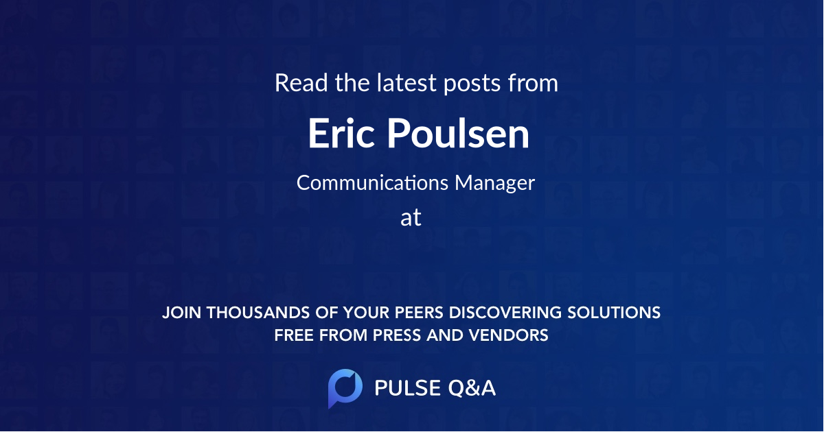 Eric Poulsen