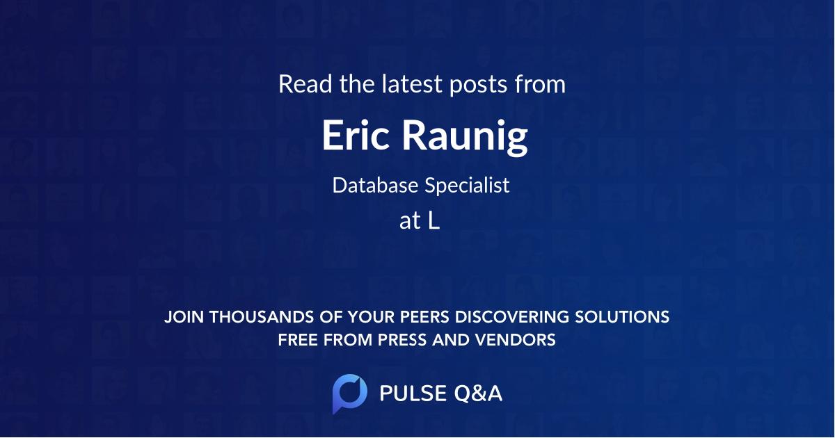 Eric Raunig