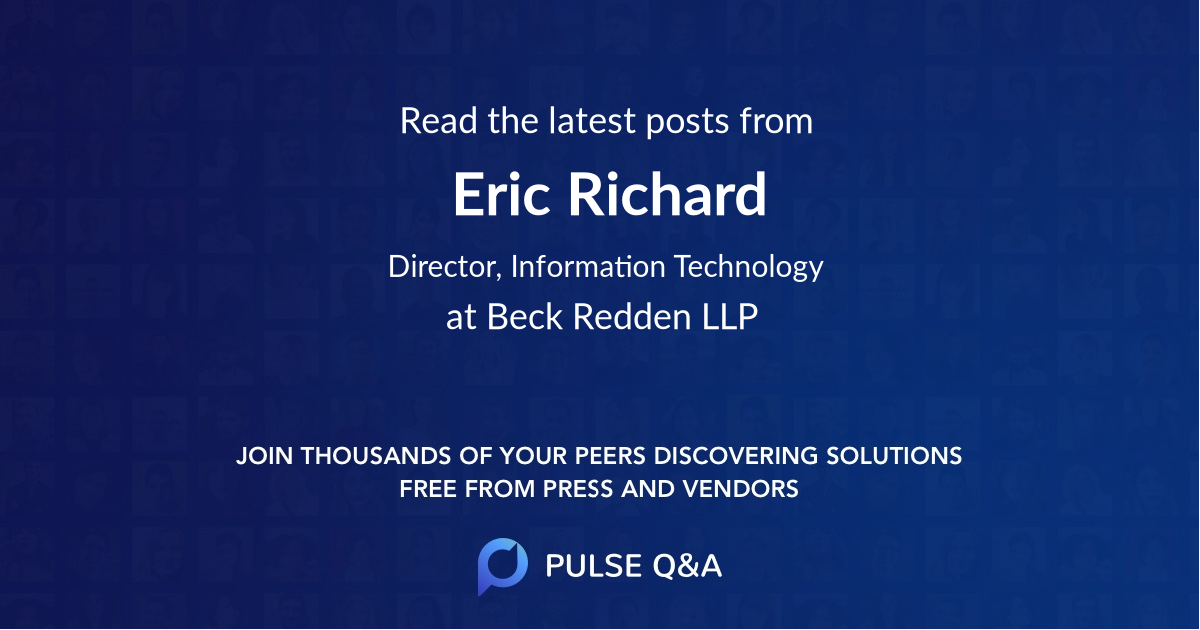 Eric Richard