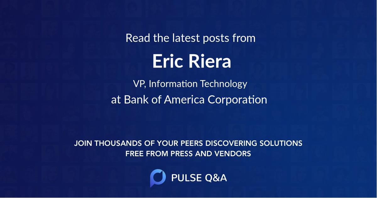 Eric Riera
