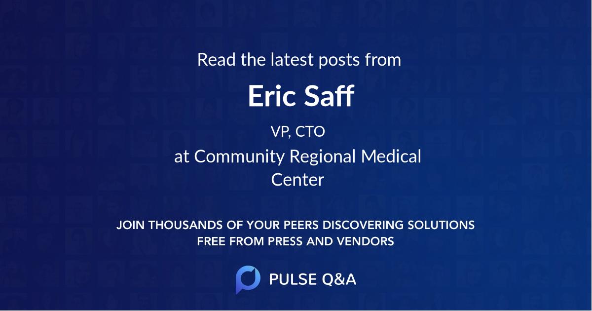 Eric Saff