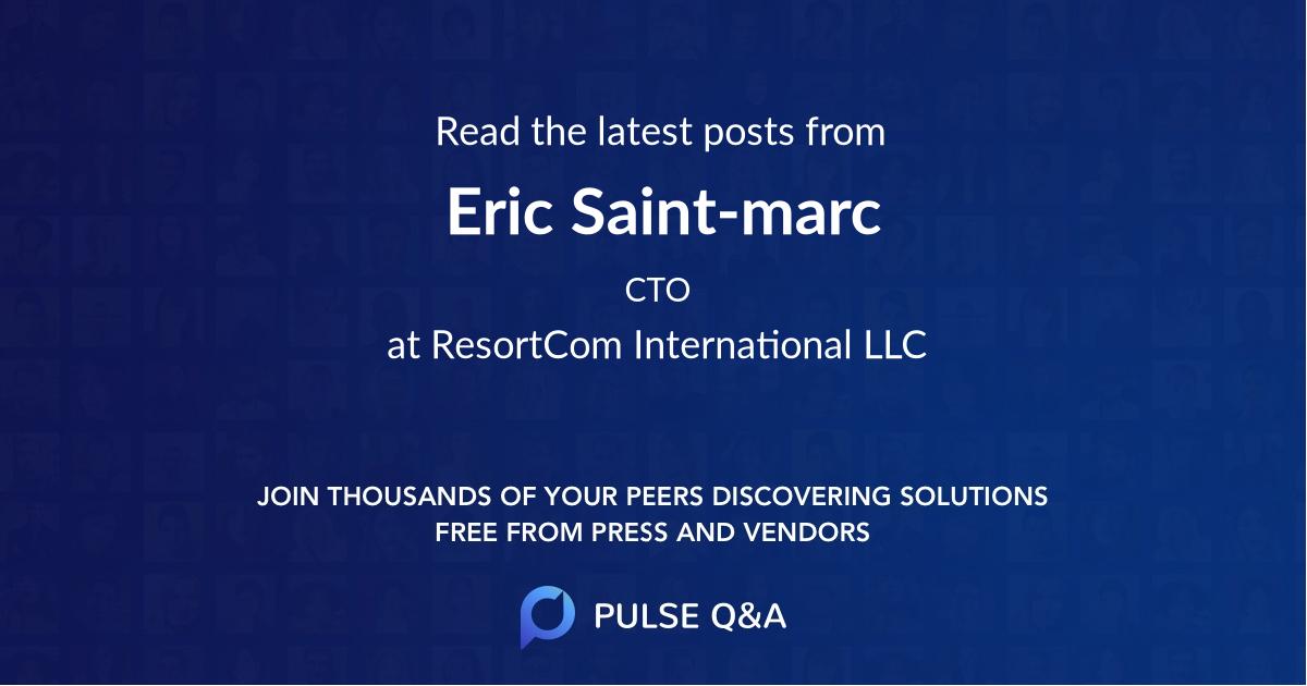 Eric Saint-marc