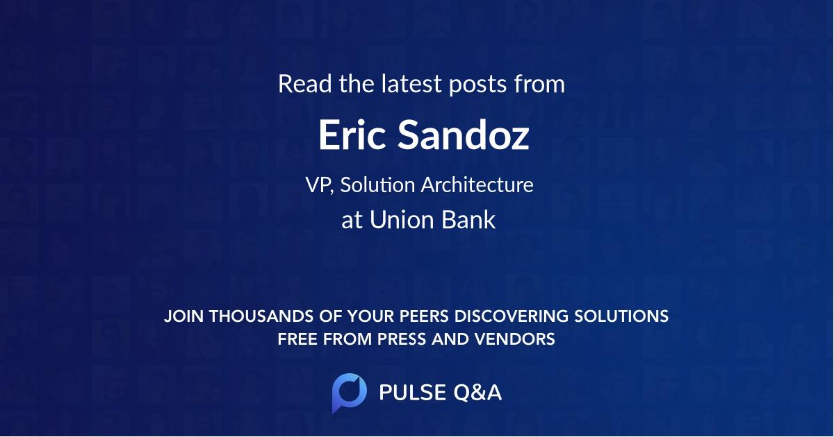 Eric Sandoz