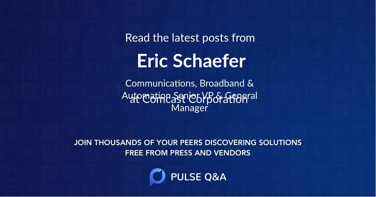 Eric Schaefer