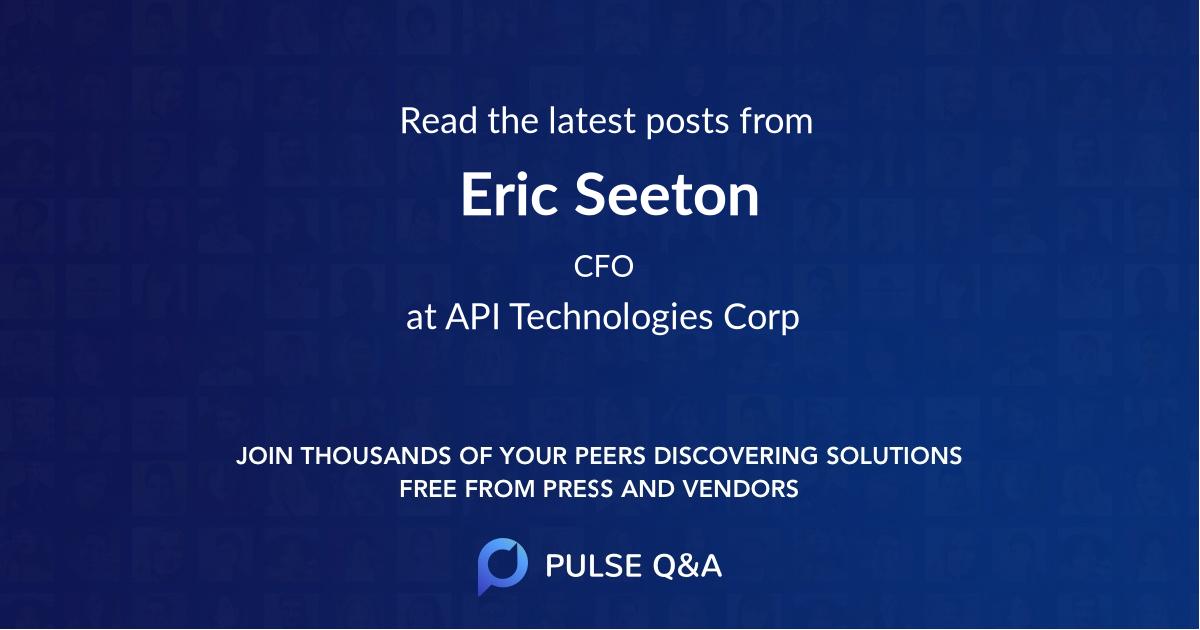 Eric Seeton