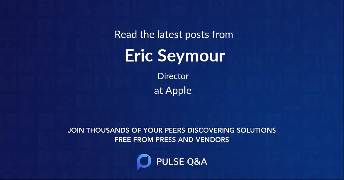 Eric Seymour