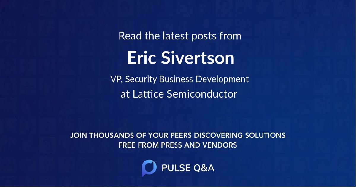 Eric Sivertson