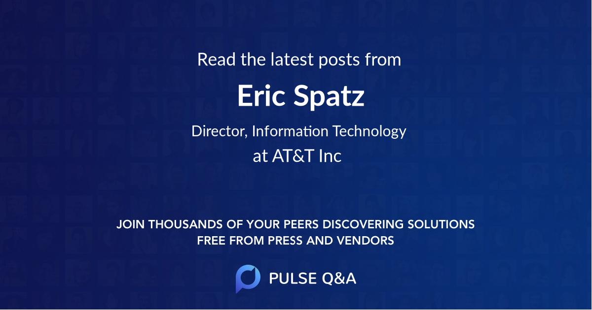 Eric Spatz