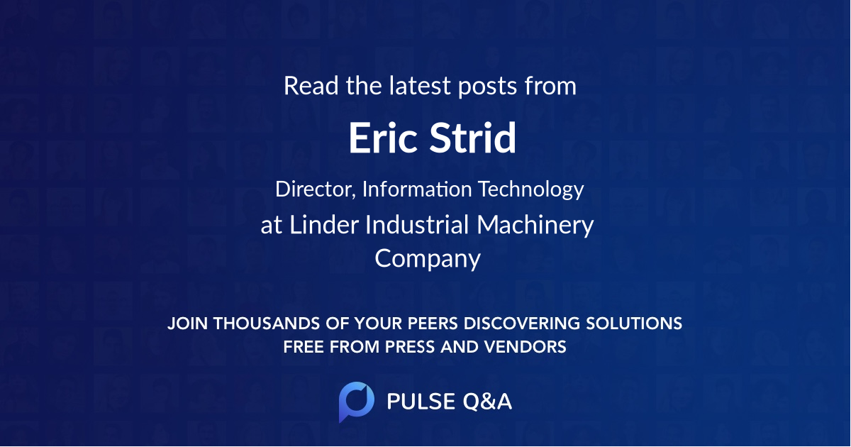 Eric Strid