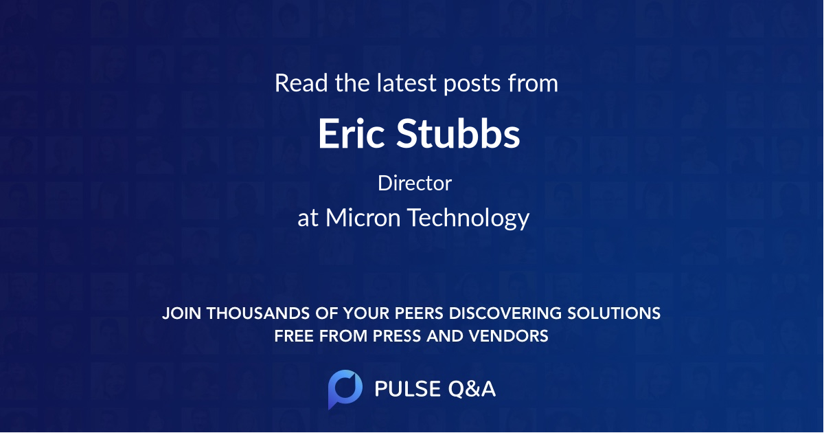 Eric Stubbs