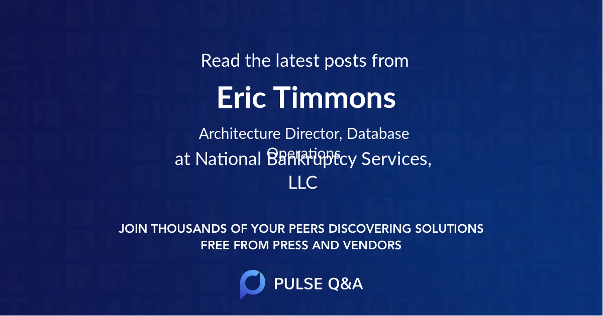 Eric Timmons