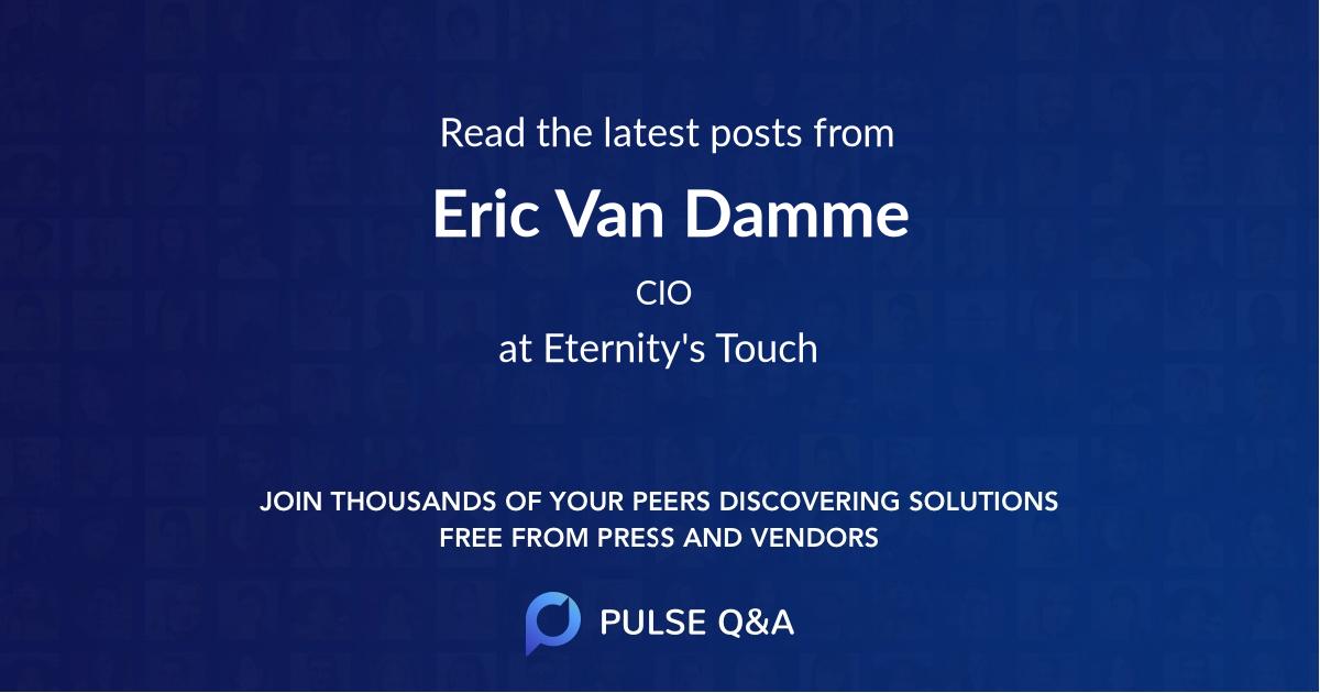 Eric Van Damme