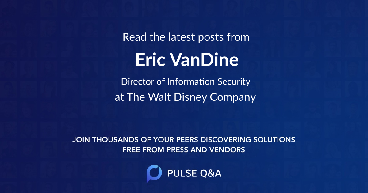Eric VanDine