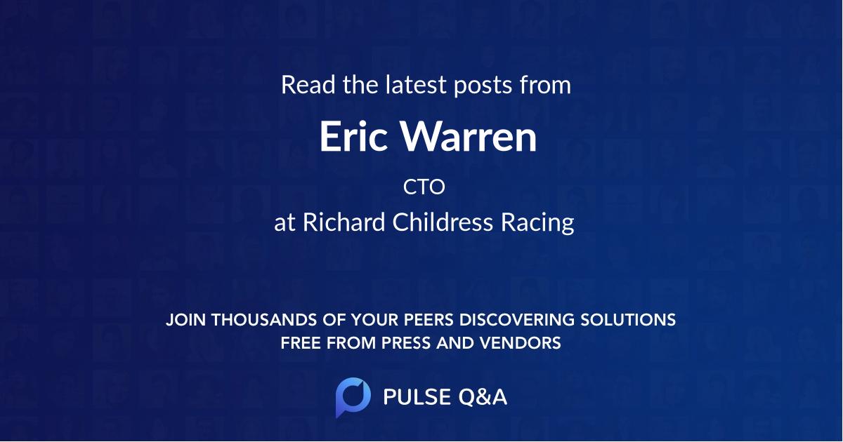 Eric Warren