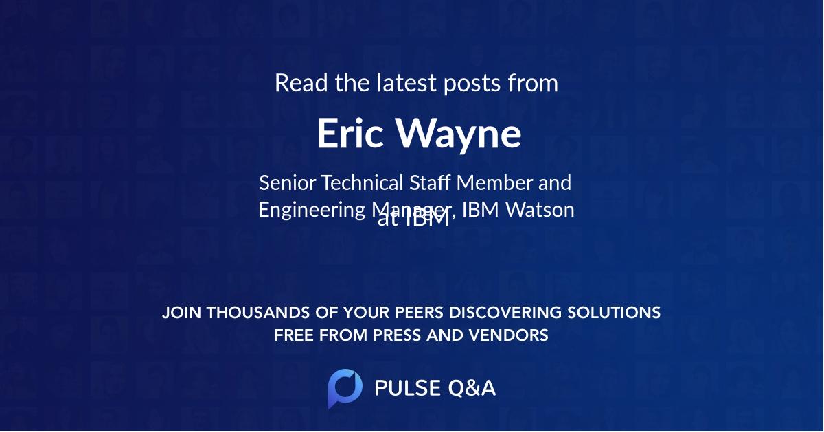 Eric Wayne