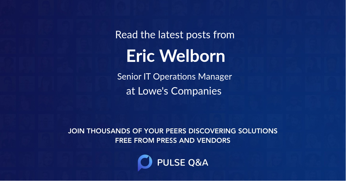 Eric Welborn