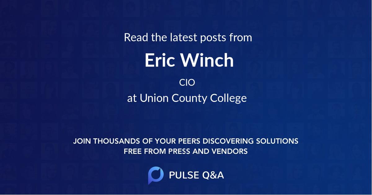 Eric Winch