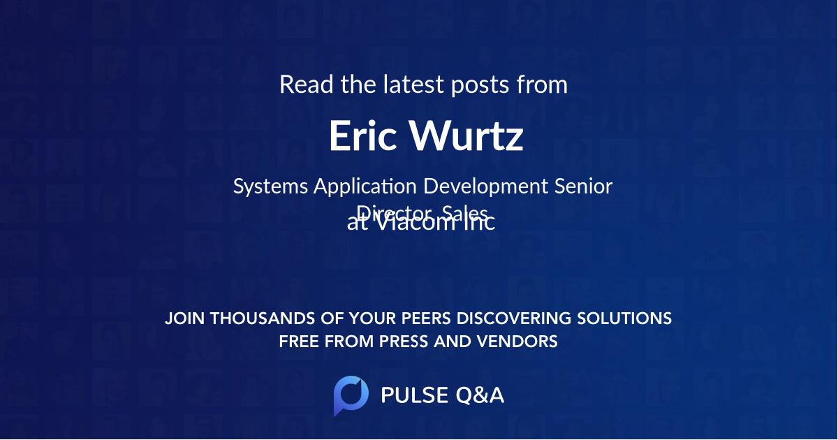 Eric Wurtz