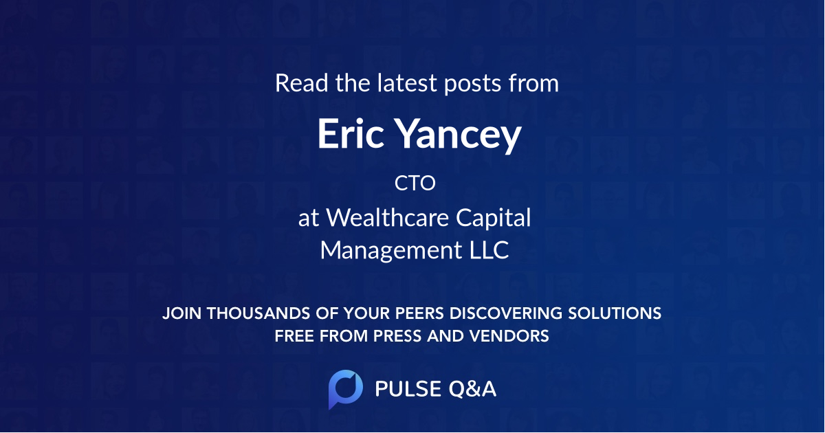 Eric Yancey